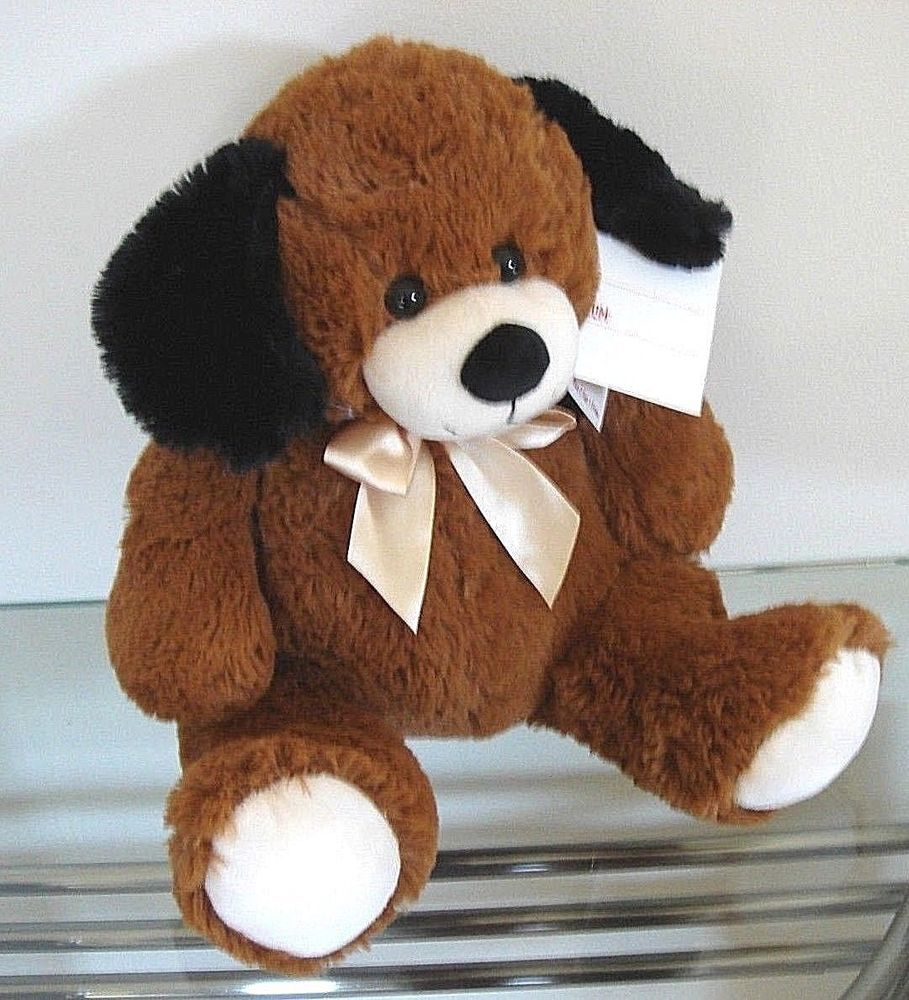 Puppy Dog Plush Stuffed Animal Hound Big Brown Baby Kids