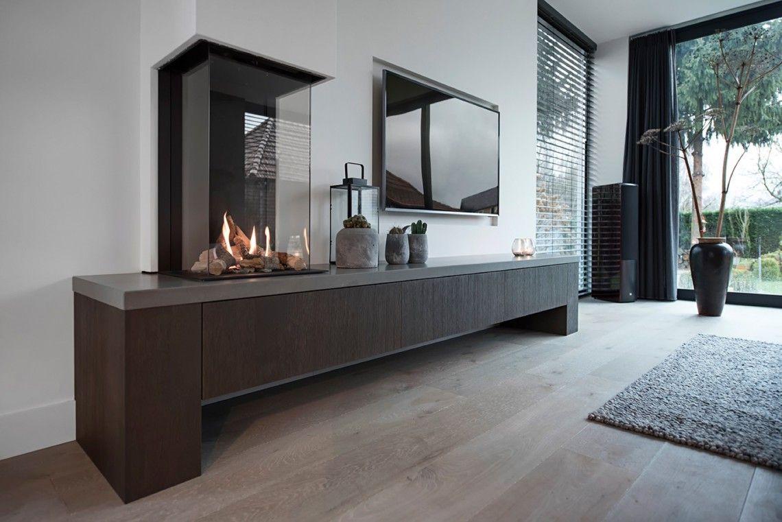 Strakk badkamerinterieur appartement eindhoven hoog