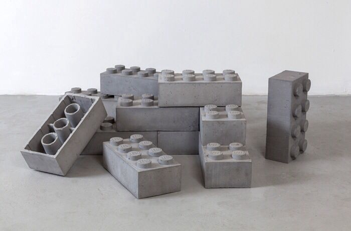 Betonnen Lego