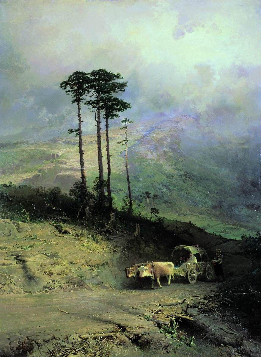 russian-painting | Russian painting, Russian landscape, Russian artists