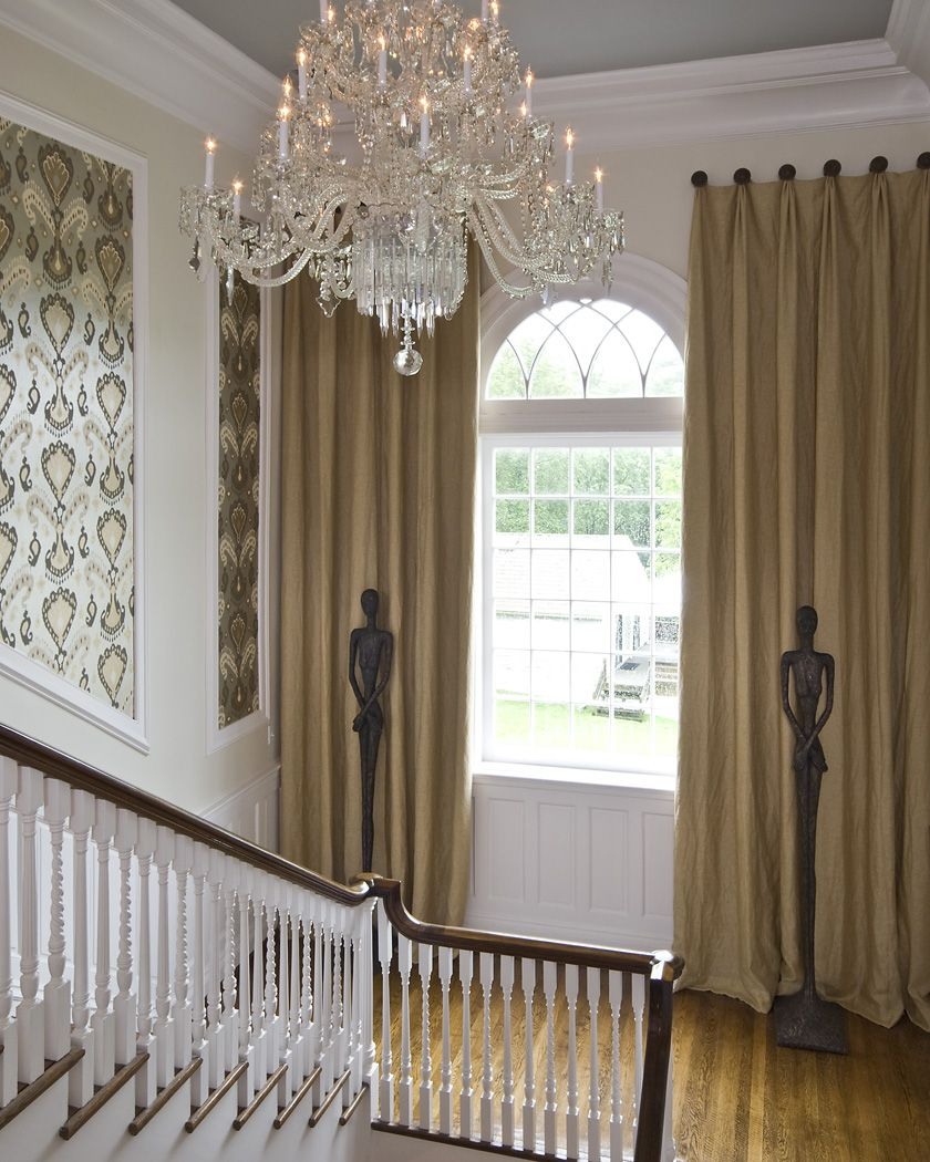 Elegant Foyer Stair Wraps A Paneled Two Story Entry Hall: Found On Bing From Www.bardensdecorating.com