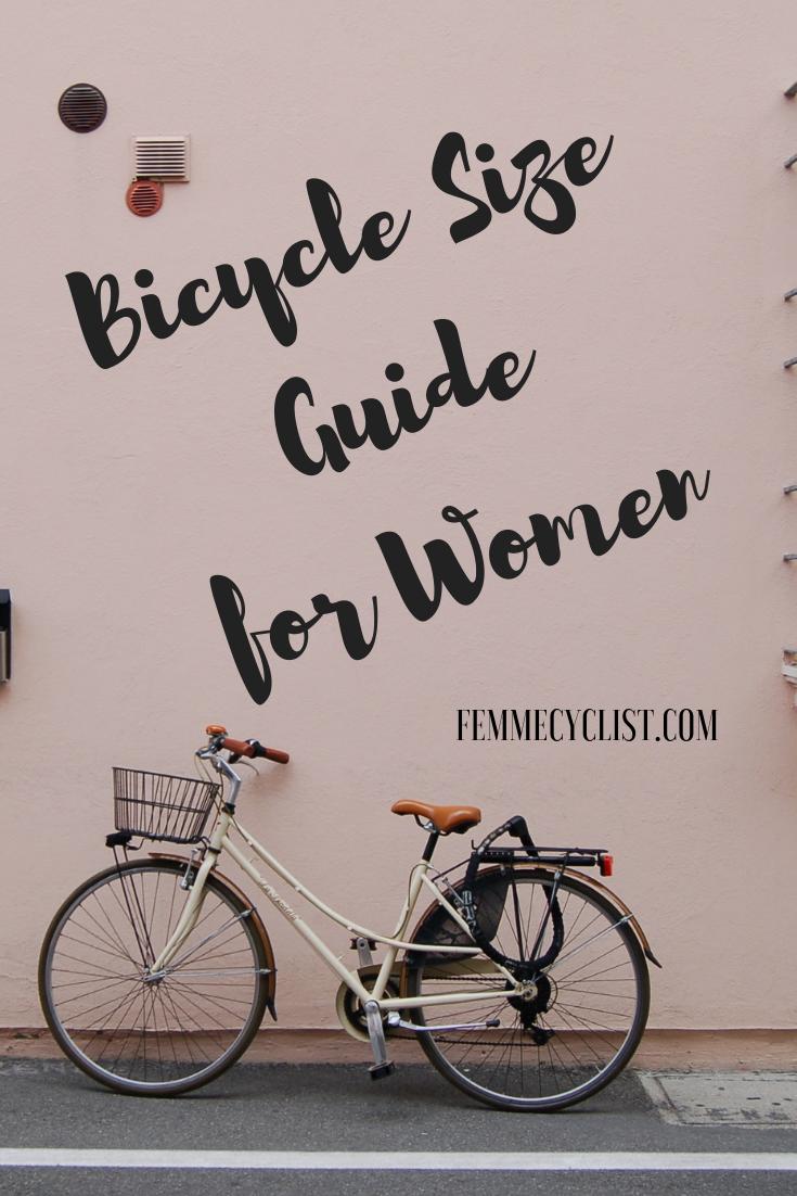 3 Simple Steps To Understanding Women S Bike Sizing Road Bike