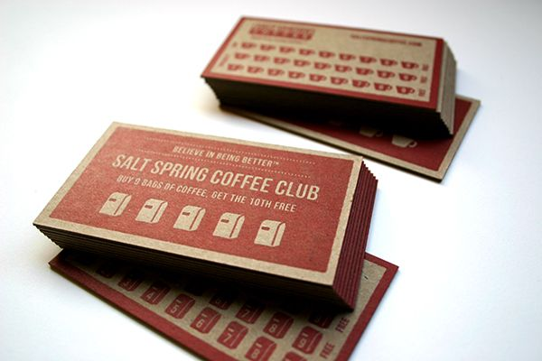 Business Cards Work Categories Porchlight Press food waste - club card design