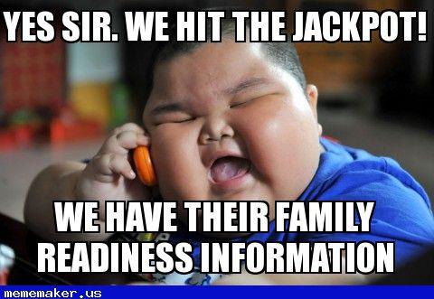 243a919d72f53873992b24b80916ccfd nice meme steal our info fat chinese kid meme creator,Meme Info