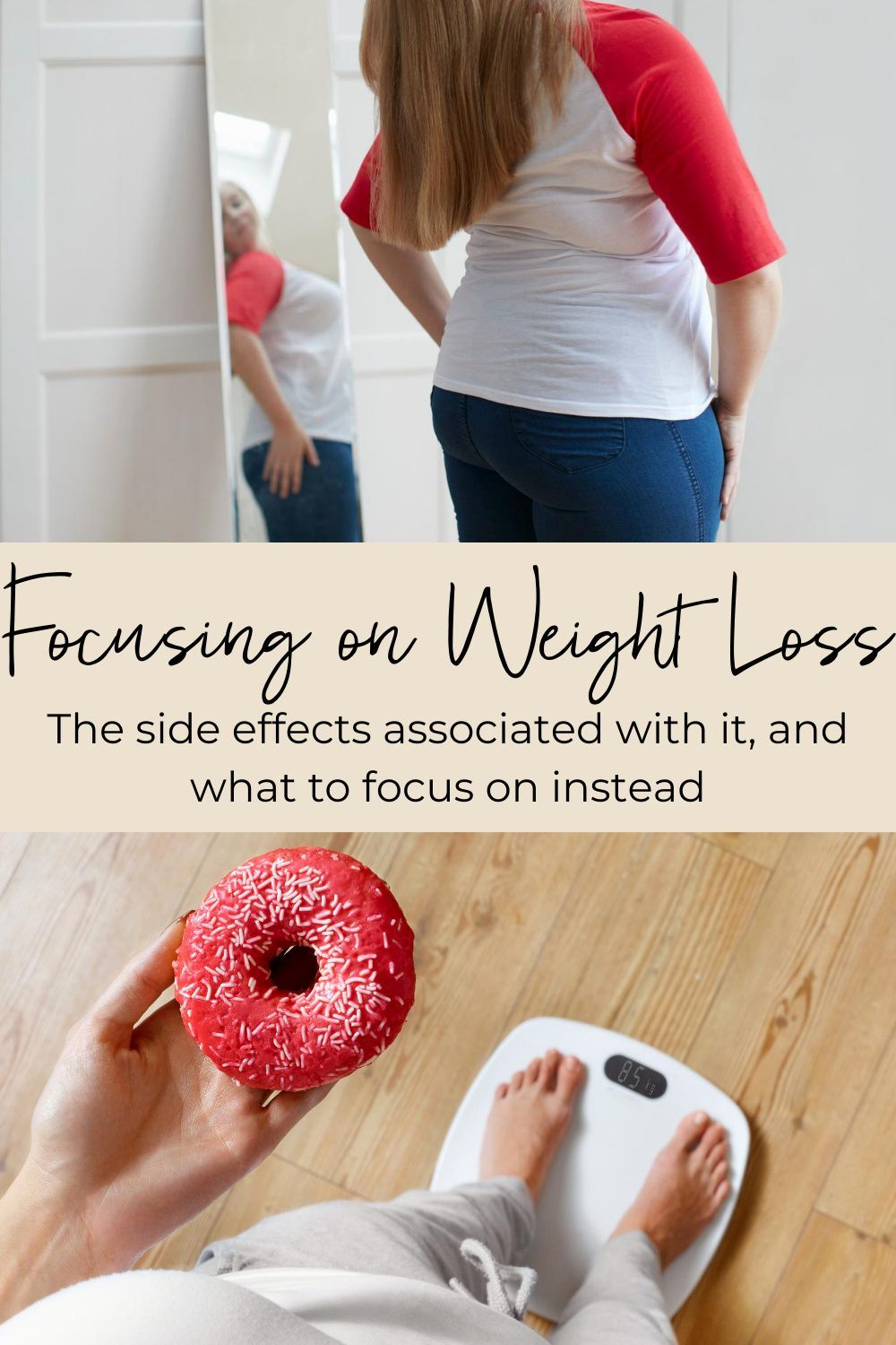 Did you know the vast majority of those who intentionally lose weight gain it all back? And many gain back more weight than they lost. In fact, dieting is associated with weight gain over time. So if you're not following food rules and you're not focusing on your weight… what in the world do you focus on? #weightloss #antdiet #nondiet #rd #dietetics #antidietdietitian #bodyacceptance #selfcare #mindfulness #weightcycling
