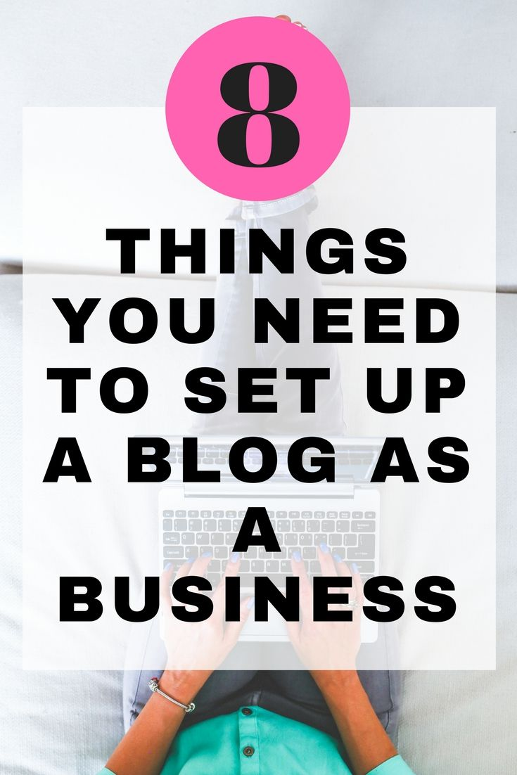 Everything you need to set up a blog as a business | Marketing ideas ...