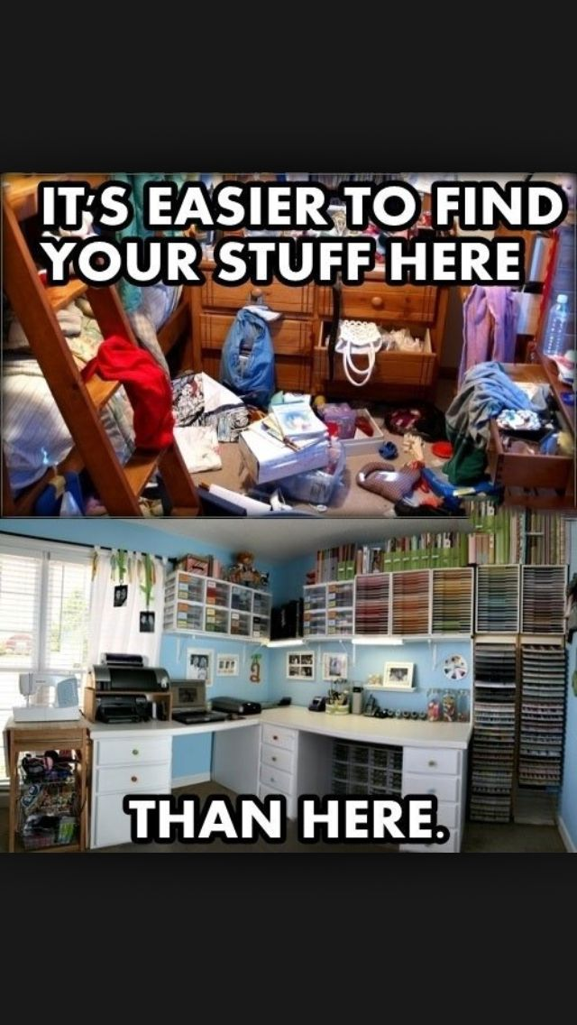 Messy room jokes | Me | Best funny pictures, Funny pictures