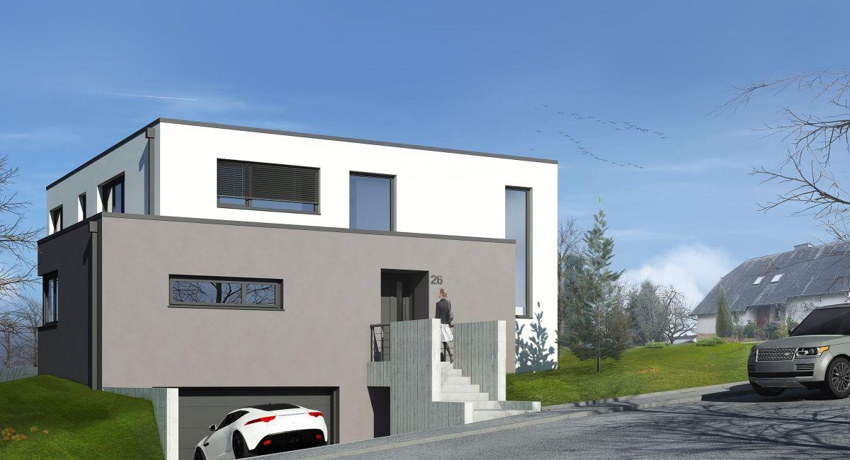 Très Belle Maison Individuelle À L'Architecture Contemporaine D'Une