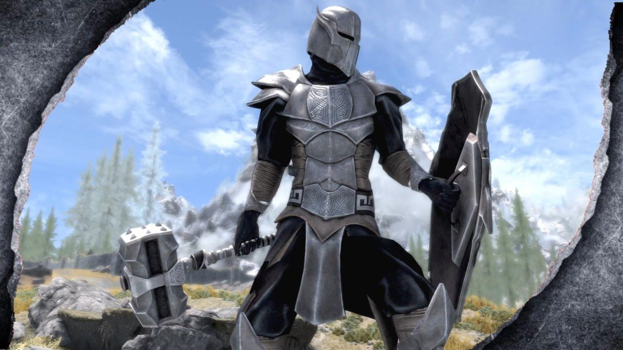 Skyrim Remastered The Gifts Of Akatosh Mod Showcase Killerkev Skyrim Armor Skyrim Armor Mods Skyrim