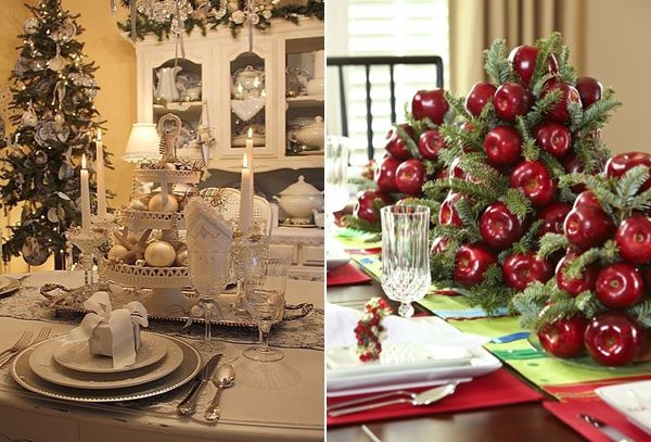 Modern Christmas Table Decorations With Images Modern Christmas Contemporary Christmas Decor Modern Christmas Decor