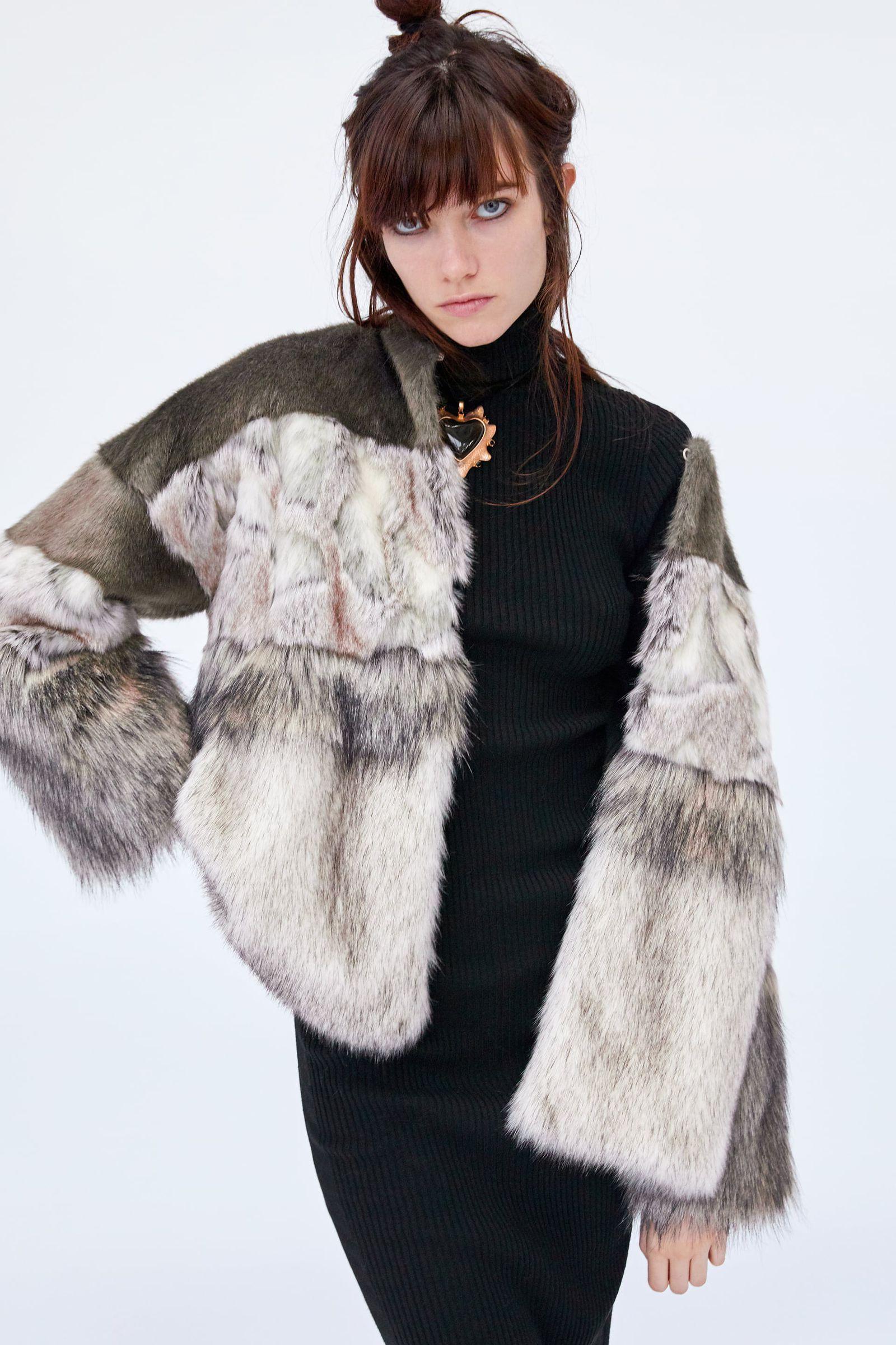 Los abrigos 'efecto pelo' de Zara que no tardarán en