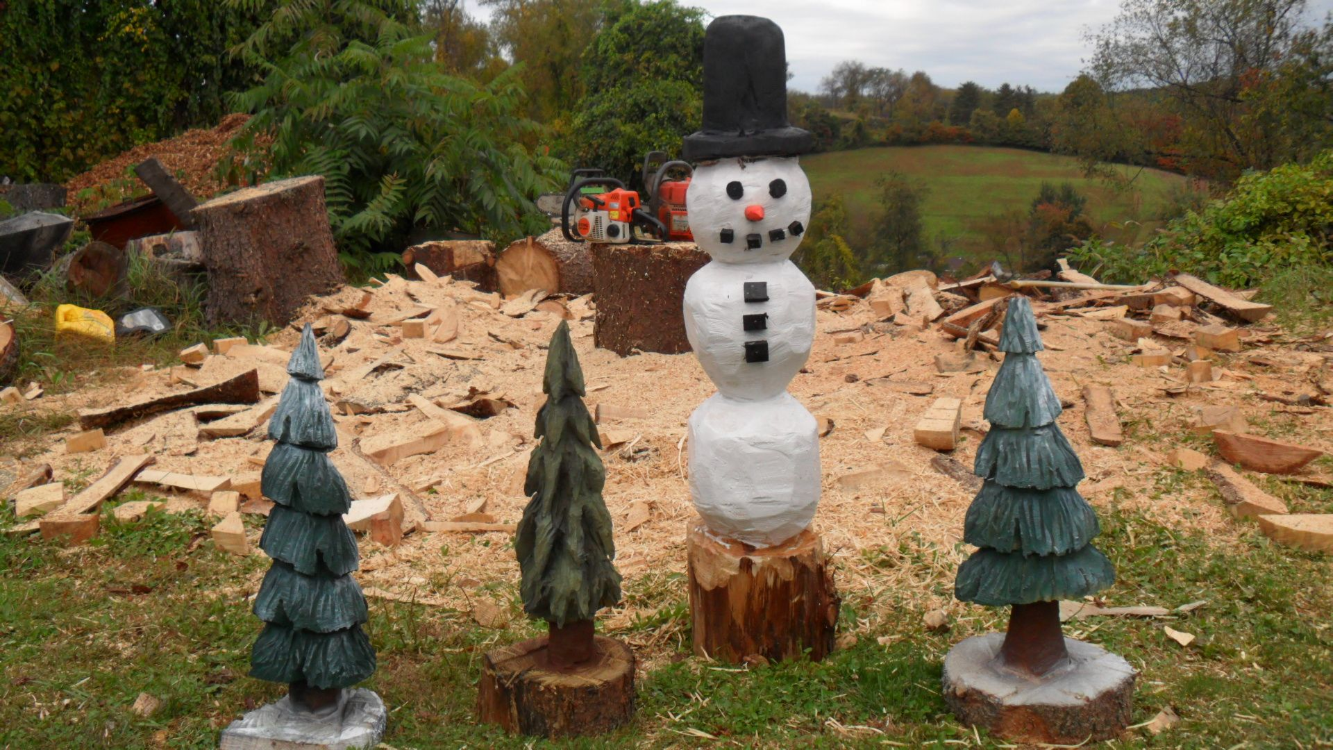 Chainsaw carvings christmas chainsaw carvings chainsaw