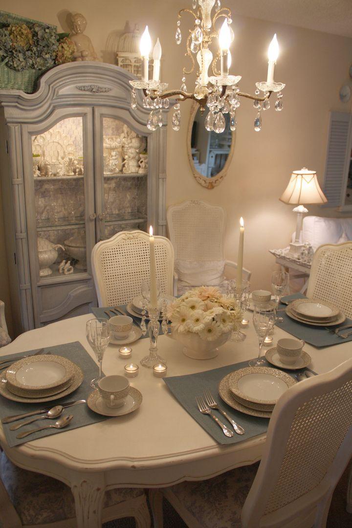 Romantic Homes Decorating: My Romantic Home: Some New Dinnerware!
