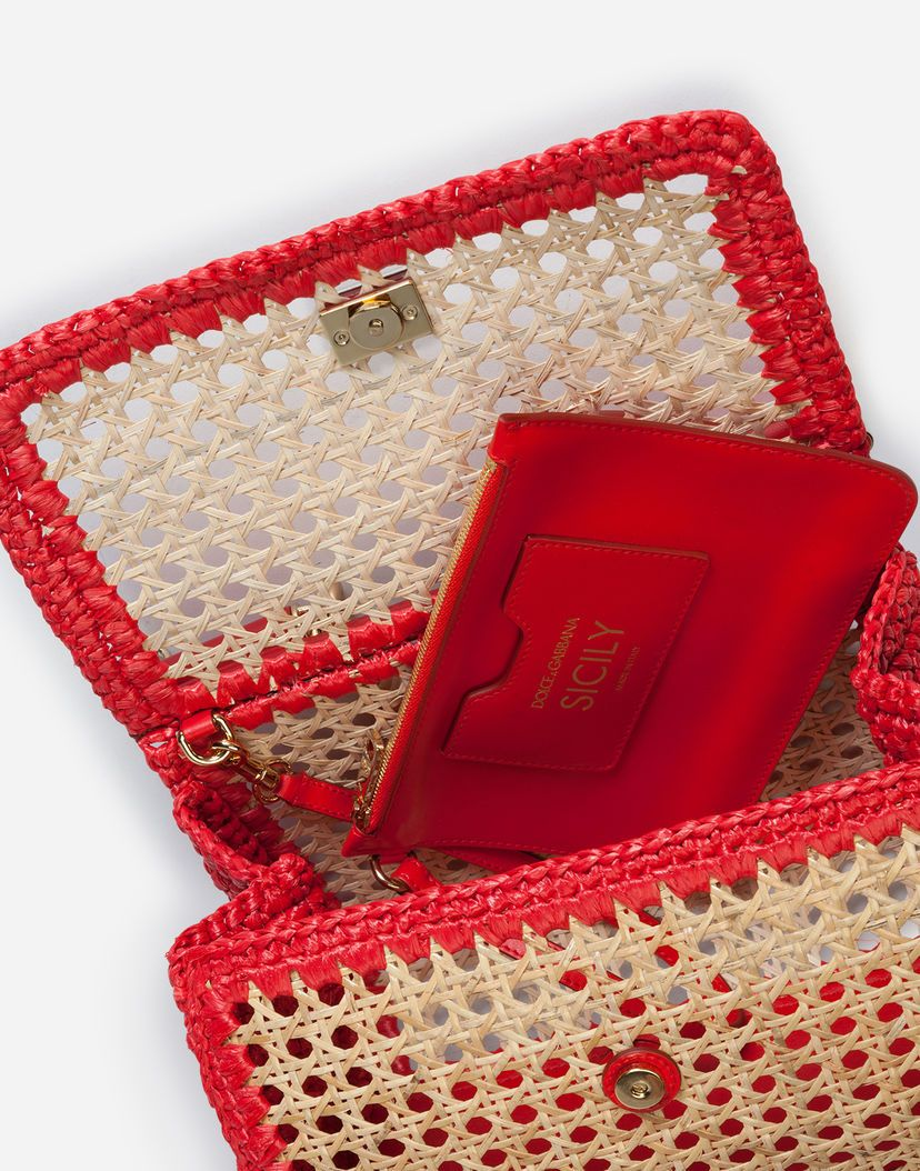 08345198e18f Medium sicily bag in mix of materials