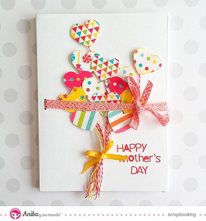 3 Tarjetas Originales Para Regalar En El Dia De La Madre Tarjetas Del Dia De Las Madres Tarjetas De Cumpleanos Hechas A Mano Tarjeta De Felicitacion