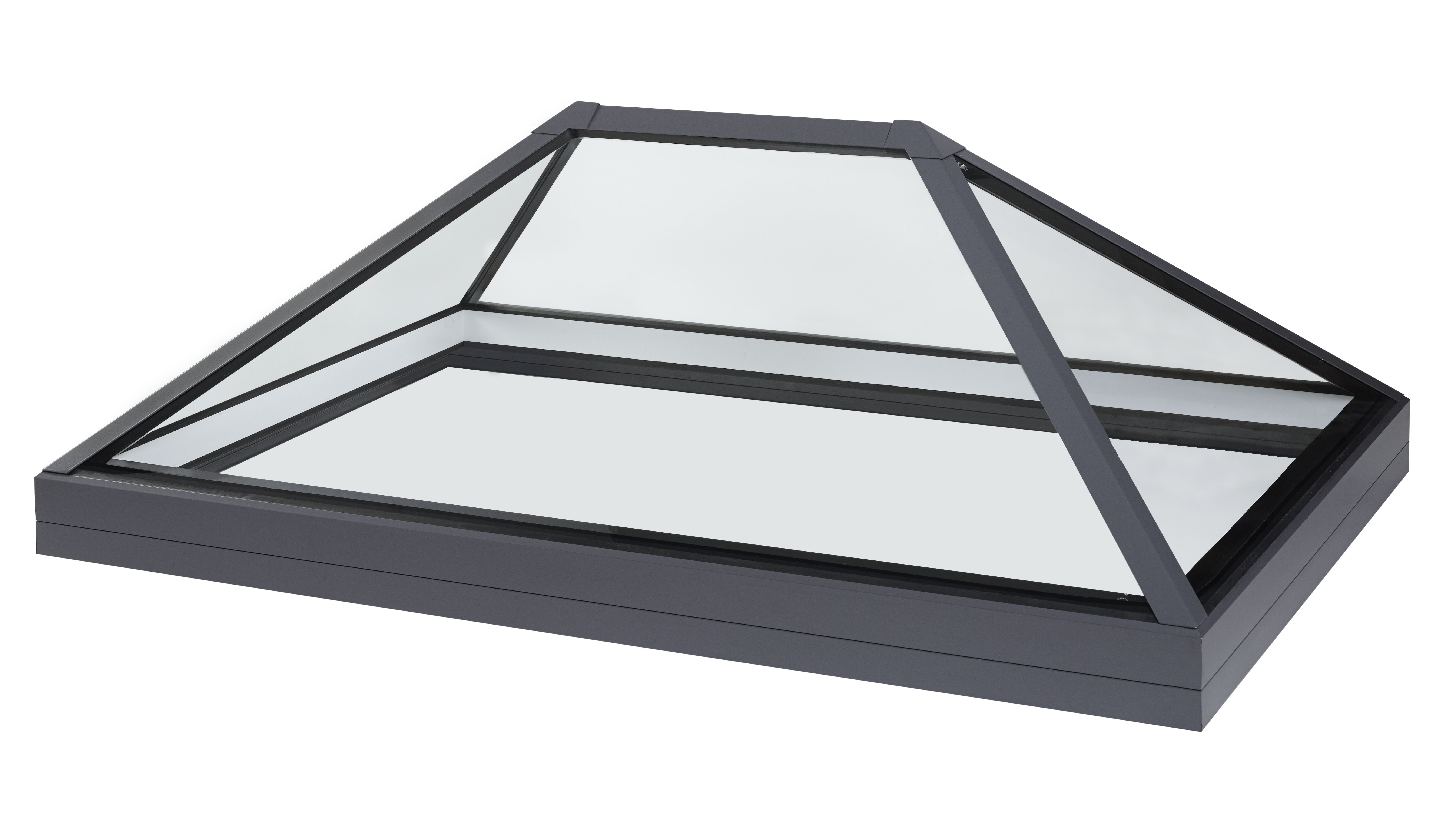 Structurally bonded roof lantern rooflight and skylights for Glass roof design