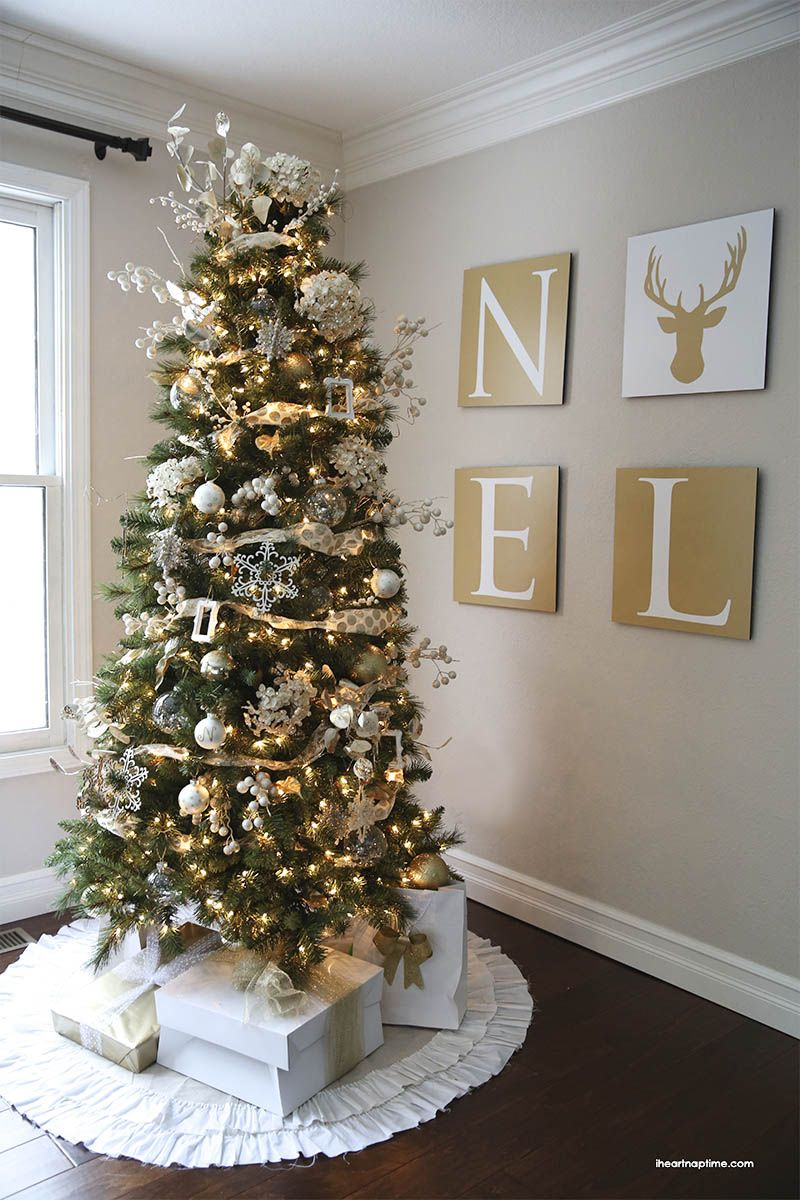 41 Most Fabulous Christmas Tree Decoration Ideas Gold Christmas Tree Beautiful Christmas Colorful Christmas Tree