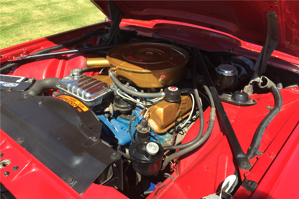 1965 FORD THUNDERBIRD CONVERTIBLE - Engine - 211195 | Ford ...