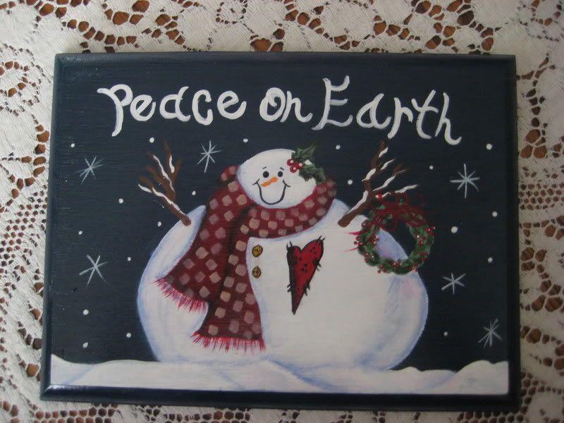 Snowman Face Patterns For Tole Painting Snowman Plaque
