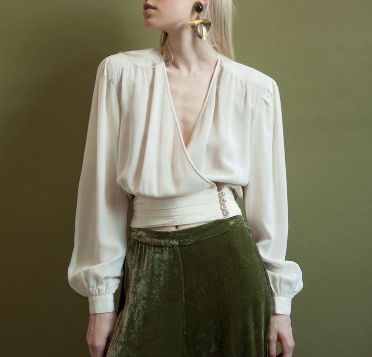 Ivory Blouses for Women