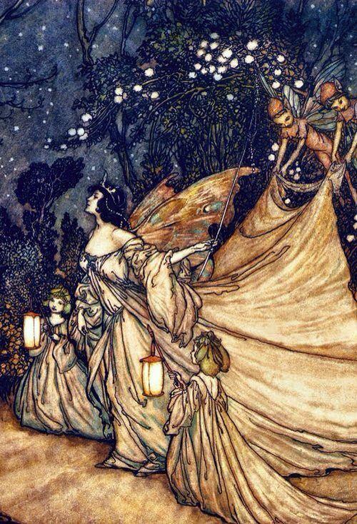 Image result for rackham fairies titania