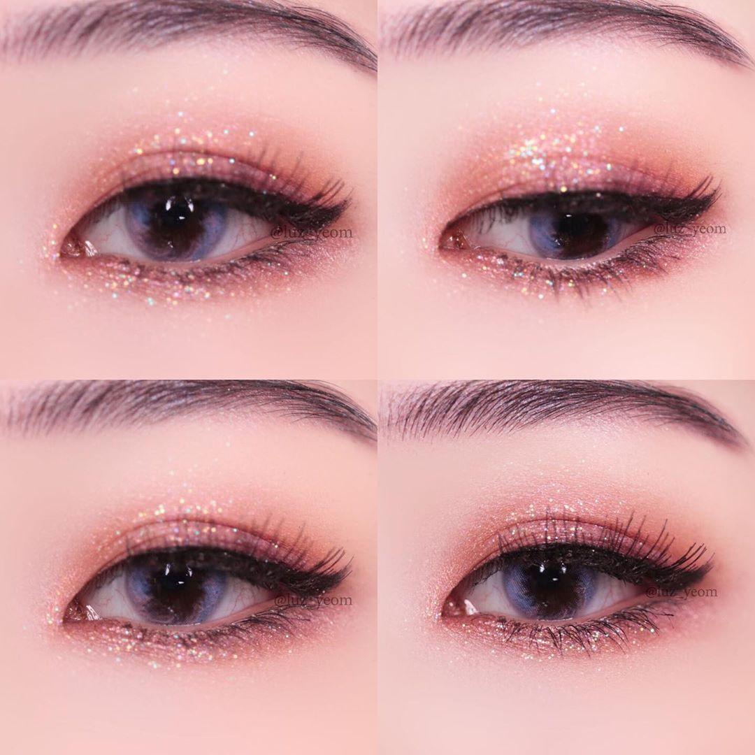 EyeMakeupHalloween in 2020 Korean eye makeup, Asian eye