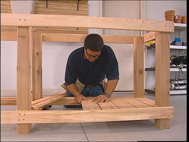 How To Make A Gardener39s Potting Bench Garden Ideas