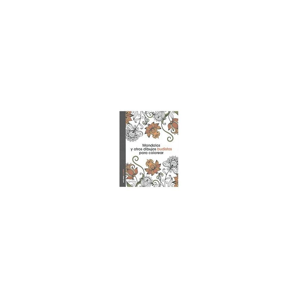 Mandalas y otros dibujos budistas para colorear libro de colorear ...