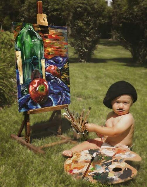 French Painter Costume Baby Costume Idea Baby Costumes Kids Costumes 1st Birthday