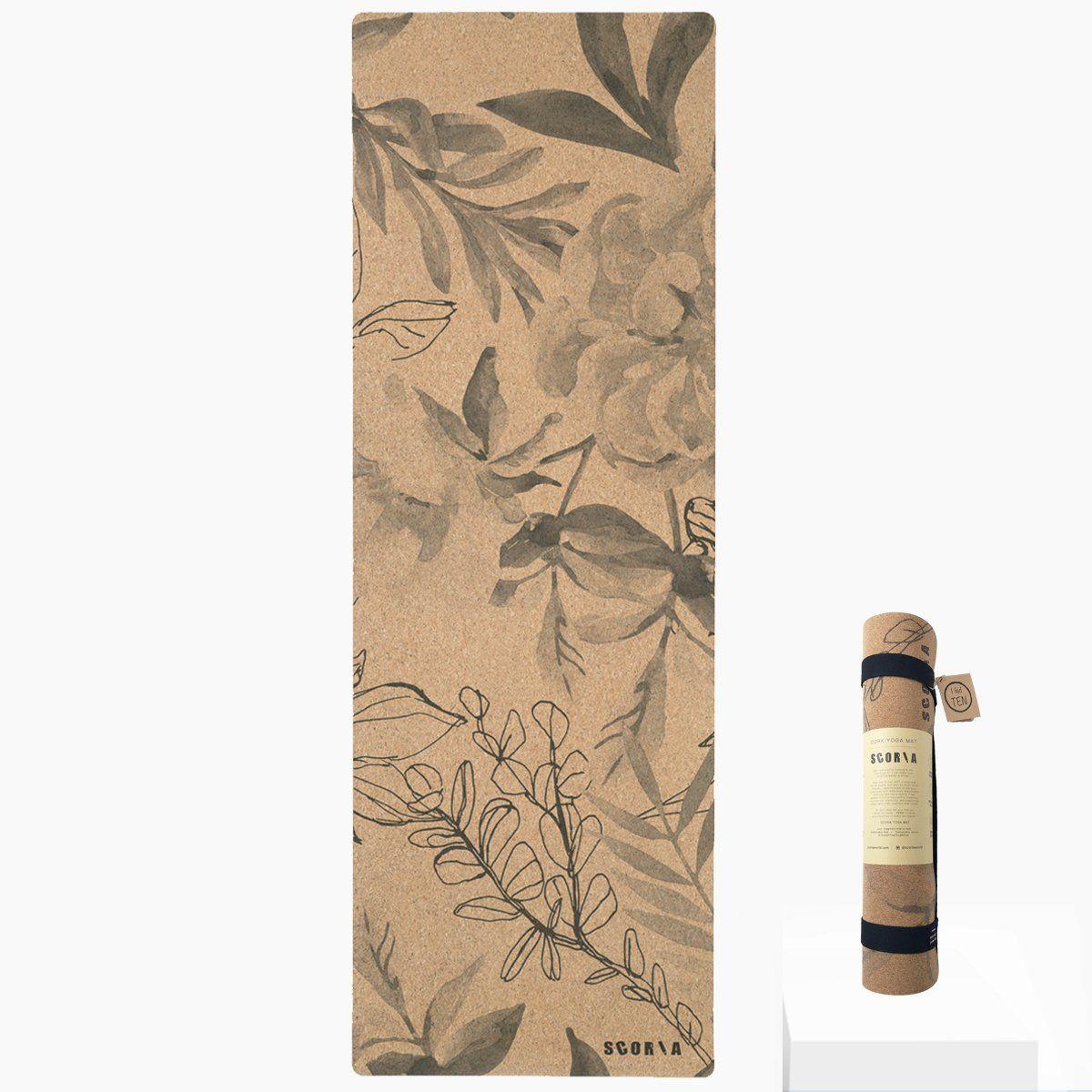 Blossom Cork Yoga Mat | 4.5MM | PRE-ORDER*