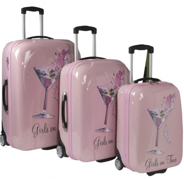 d2c83906d822 pink-girly-luggage | Luggage & Weekend Bag in 2019 | Luggage sets ...