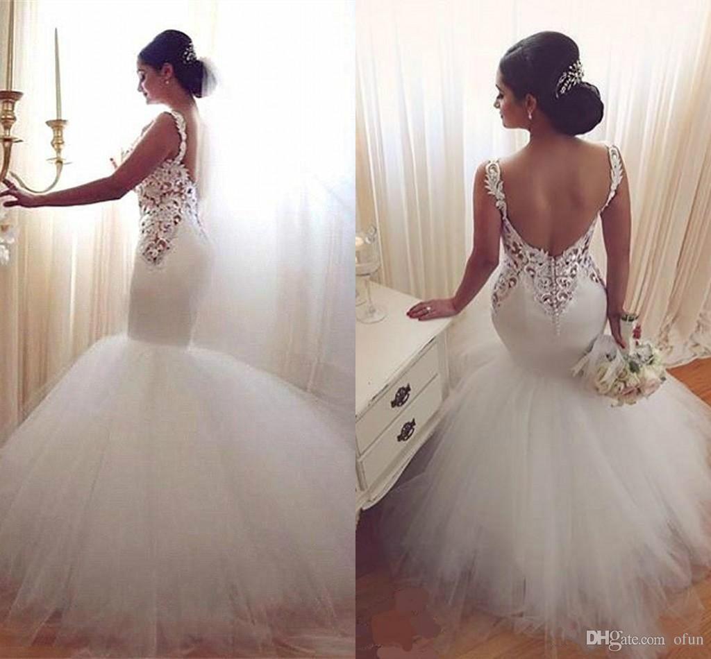2019 Off Shoulder Lace Appliques Slim Fitted Mermaid Wedding Dresses Dubai Custom Bridal Gowns Lace Up Back Vestidos De Mariee Fishtail From Deardressh 150 76 Wedding Dresses Lace Wedding Dresses Bridal Dresses [ 950 x 1024 Pixel ]