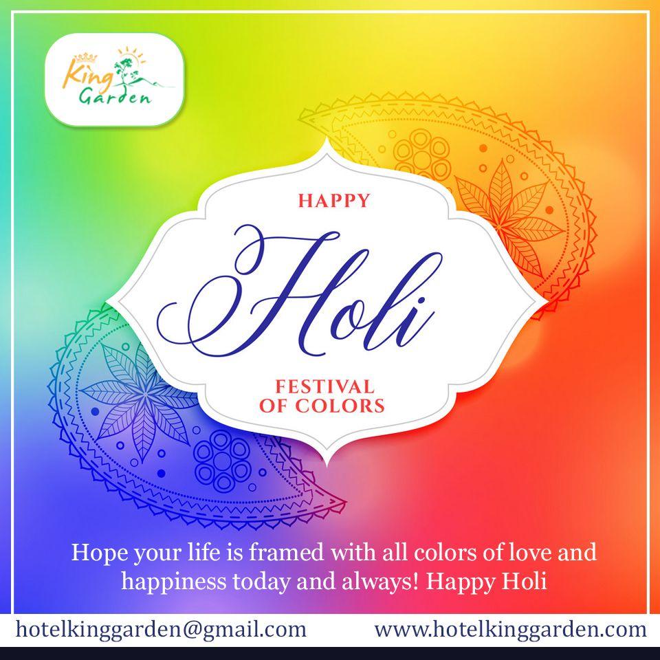 Hotel King Garden, wishing you a very Happy Holi.  #holi #happyholi #india #festival #holifestival #love #colors #colours #color #holipowder #like #festivalofcolors #holifestivalofcolours #holihai #festivalofcolours #holifest #indianfestival #HappyHoli2020