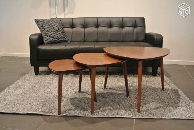Tables Basses Gigognes Vintage Mycreationdesign Ameublement Paris Leboncoin Fr Meuble Vintage Ameublement Table Basse Gigogne