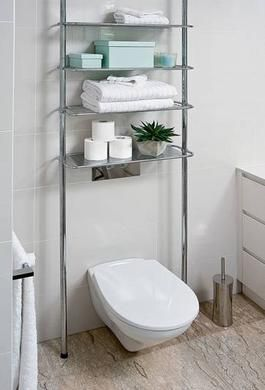 Howards Storage World Telescopic 4 Shelf Rack Over Toilet Storage Toilet Storage Over Toilet