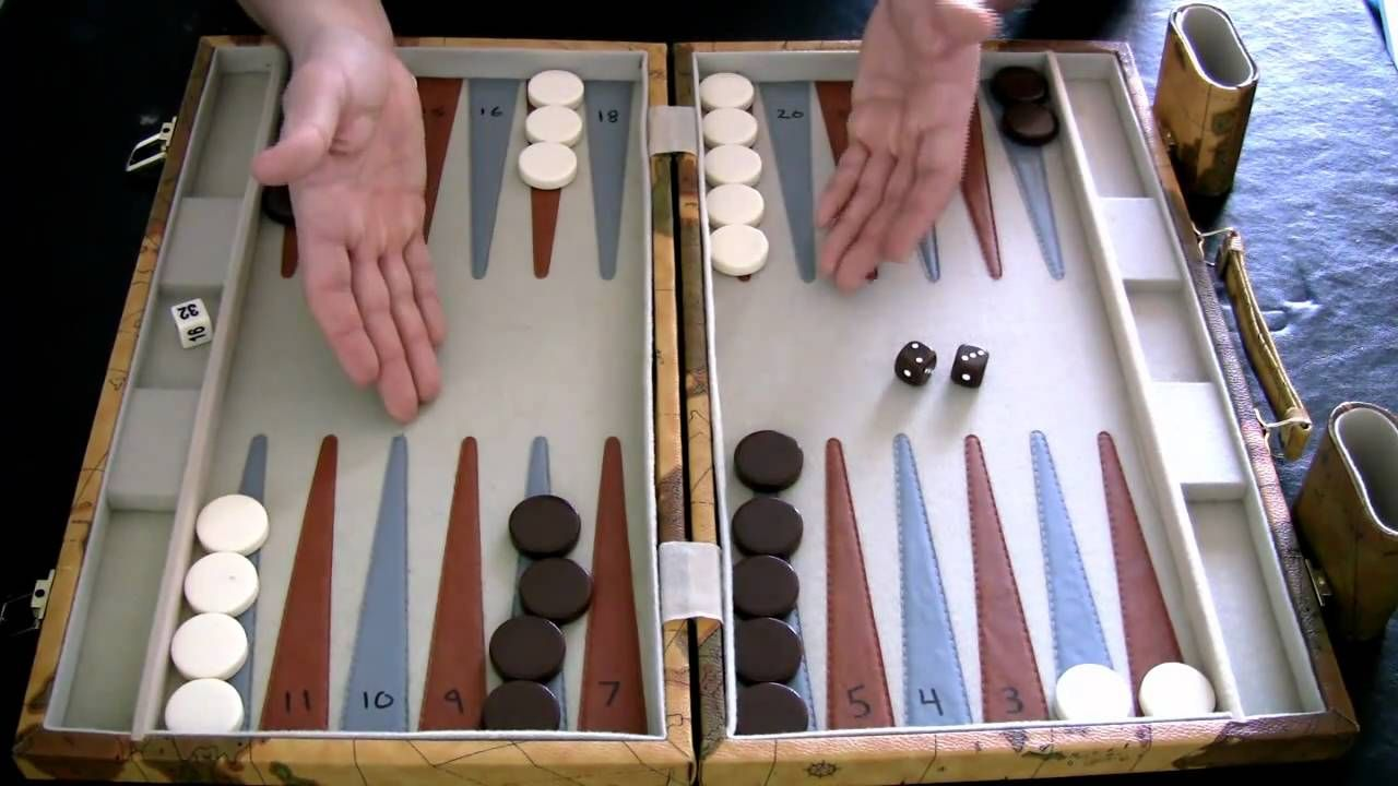 Beginner Backgammon Tutorial 2 How to Move the