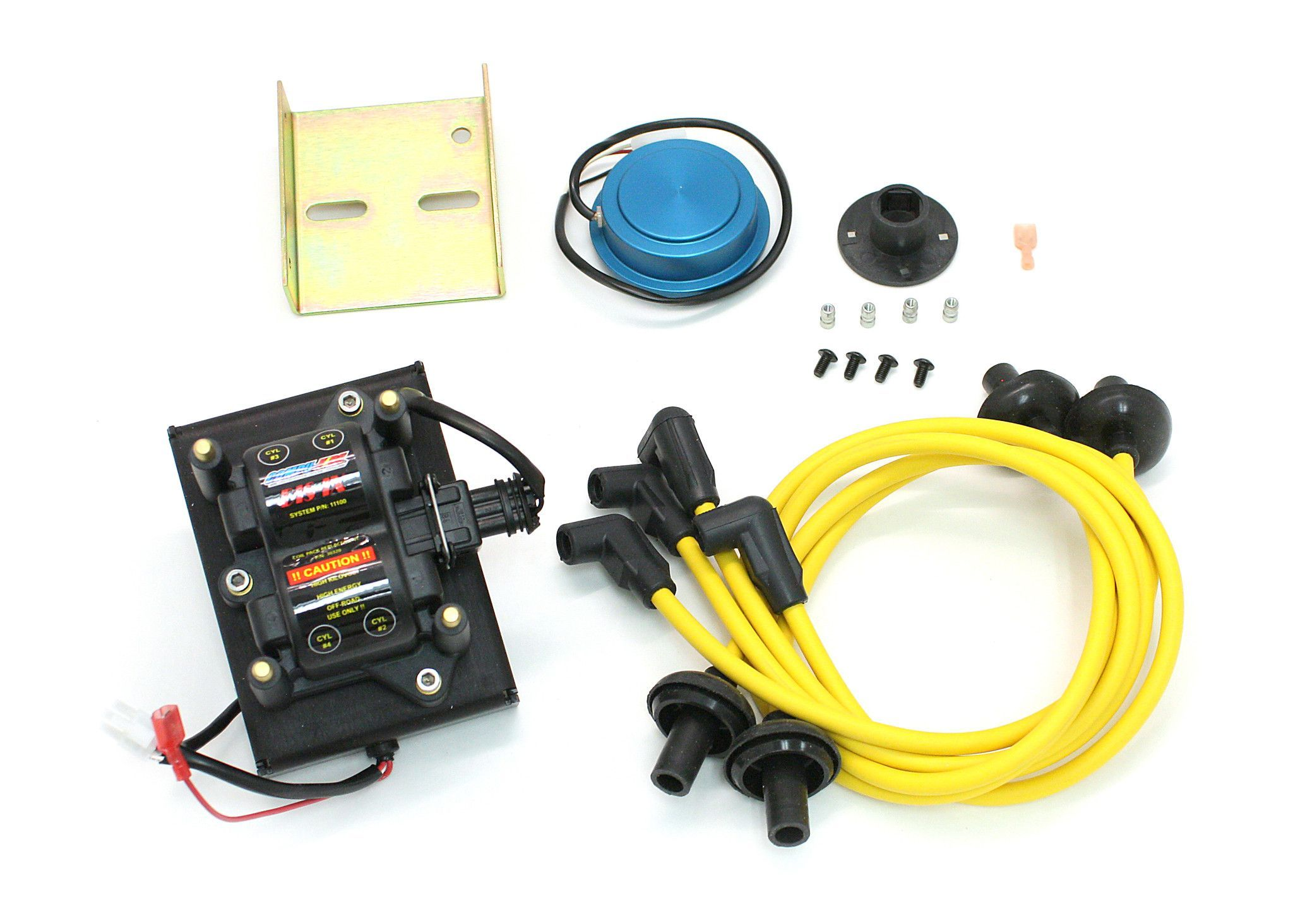 compufire distributorless ignition system for bosch 009 distributor with yellow wires [ 2048 x 1464 Pixel ]