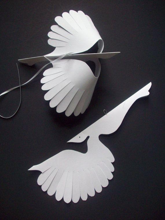 Птички из бумаги своими руками картинки, надписью мамочка