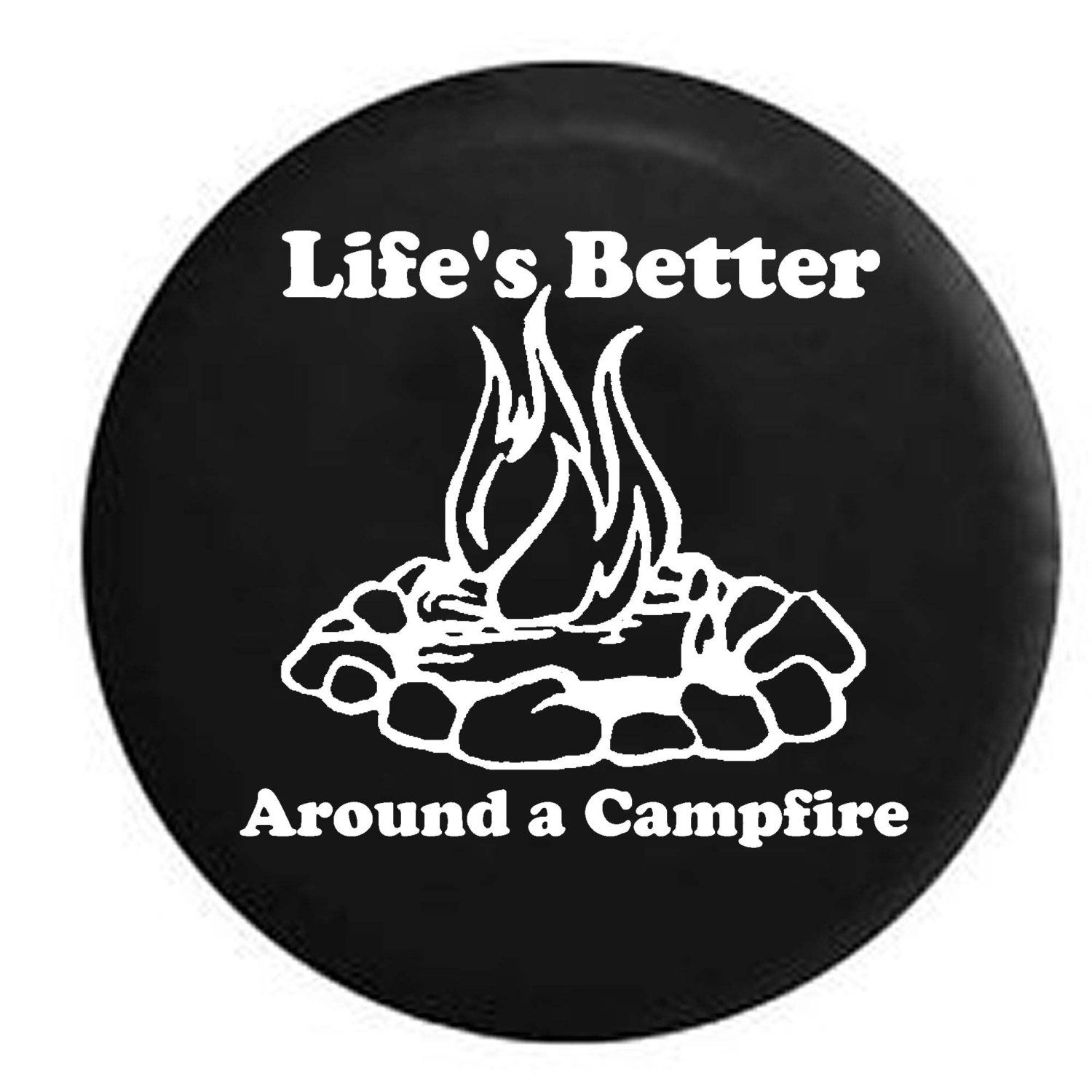 Spare Tire Cover Fear No Fish Skeleton Fishing Hunting Bass Walleye Rv Camper Spare Tire Cover F108 Tire Cover Spare Tire Covers Spare Tire