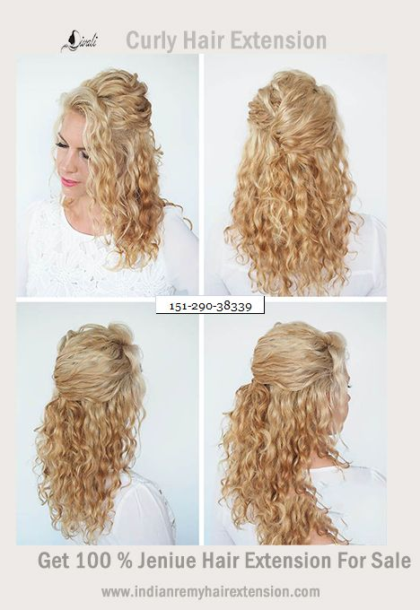Book 100 Genie Curly Hair Extension With Our Website And Lot Of