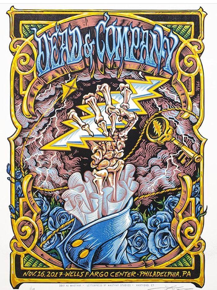 Dead & Company - Philadelphia, PA 11/16/17   Dead & Company in 2019