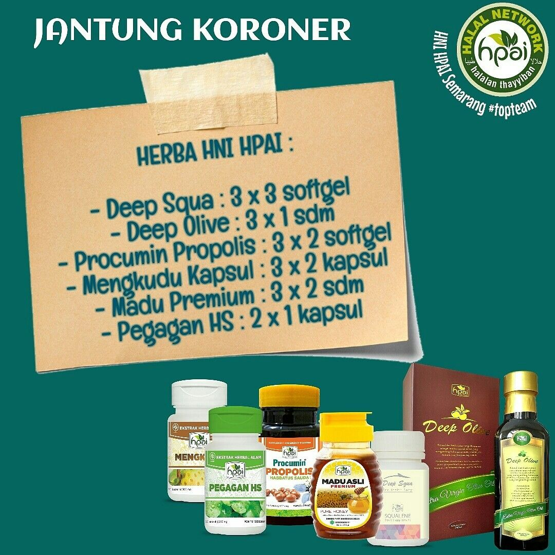 Jantung Koroner Resep Herba Hpai Order Via Wa 082226799918 Ig Halal Hpaisemarang Follow Ig Untuk Info Kesehatan Lebih Lengkap Sto Herba Resep Kesehatan