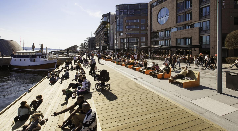 Stranden - Aker brygge