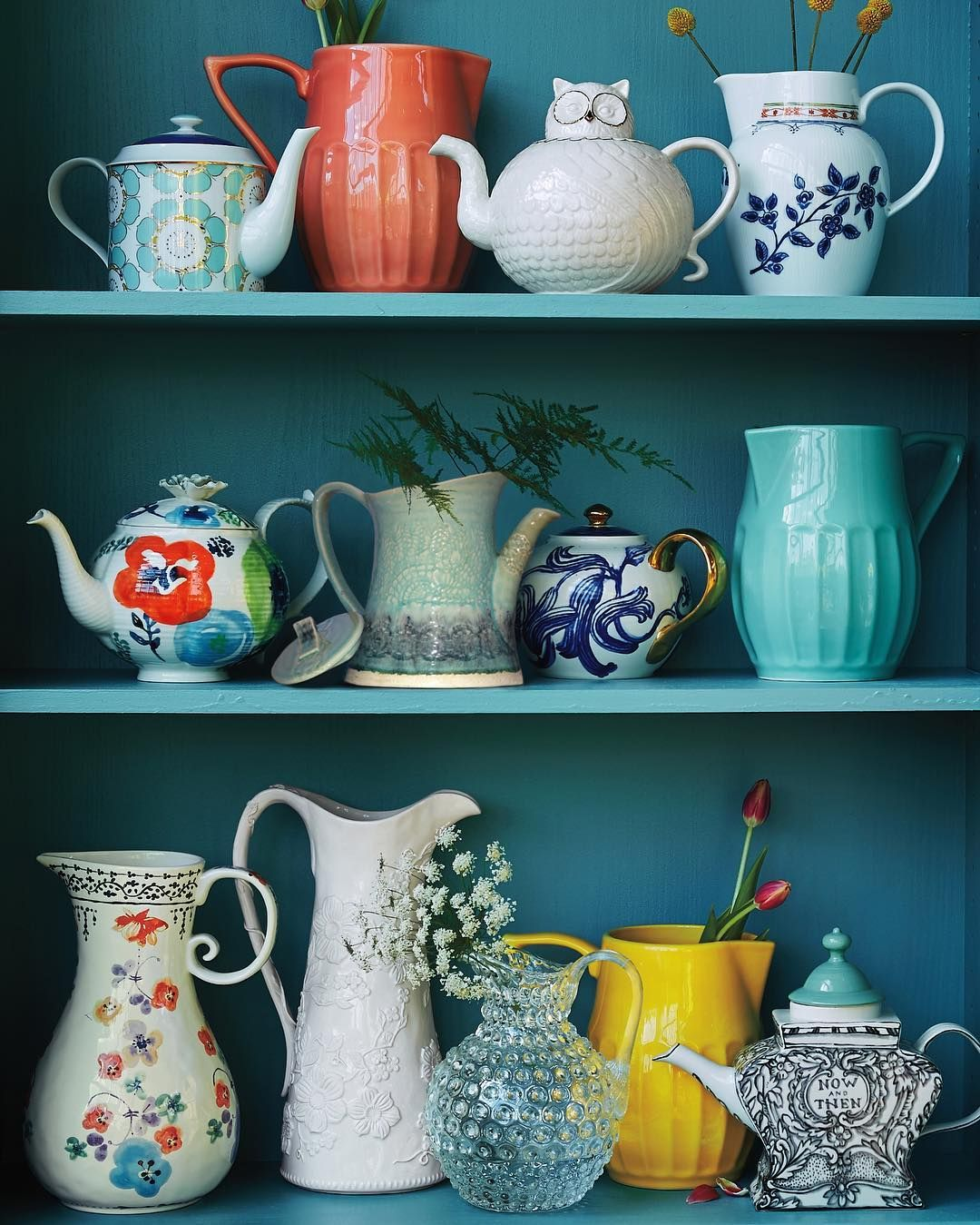 """""""Sip + See / If You Have Treasured Teapots And Pitchers At"""