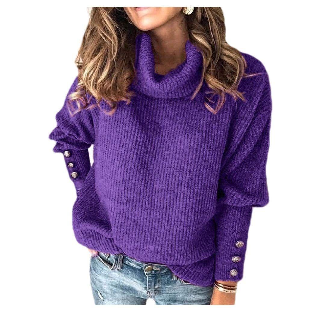 Tralounry Womens Girls Spring//Fall V Neck Long Sleeve Pullover T-Shirt