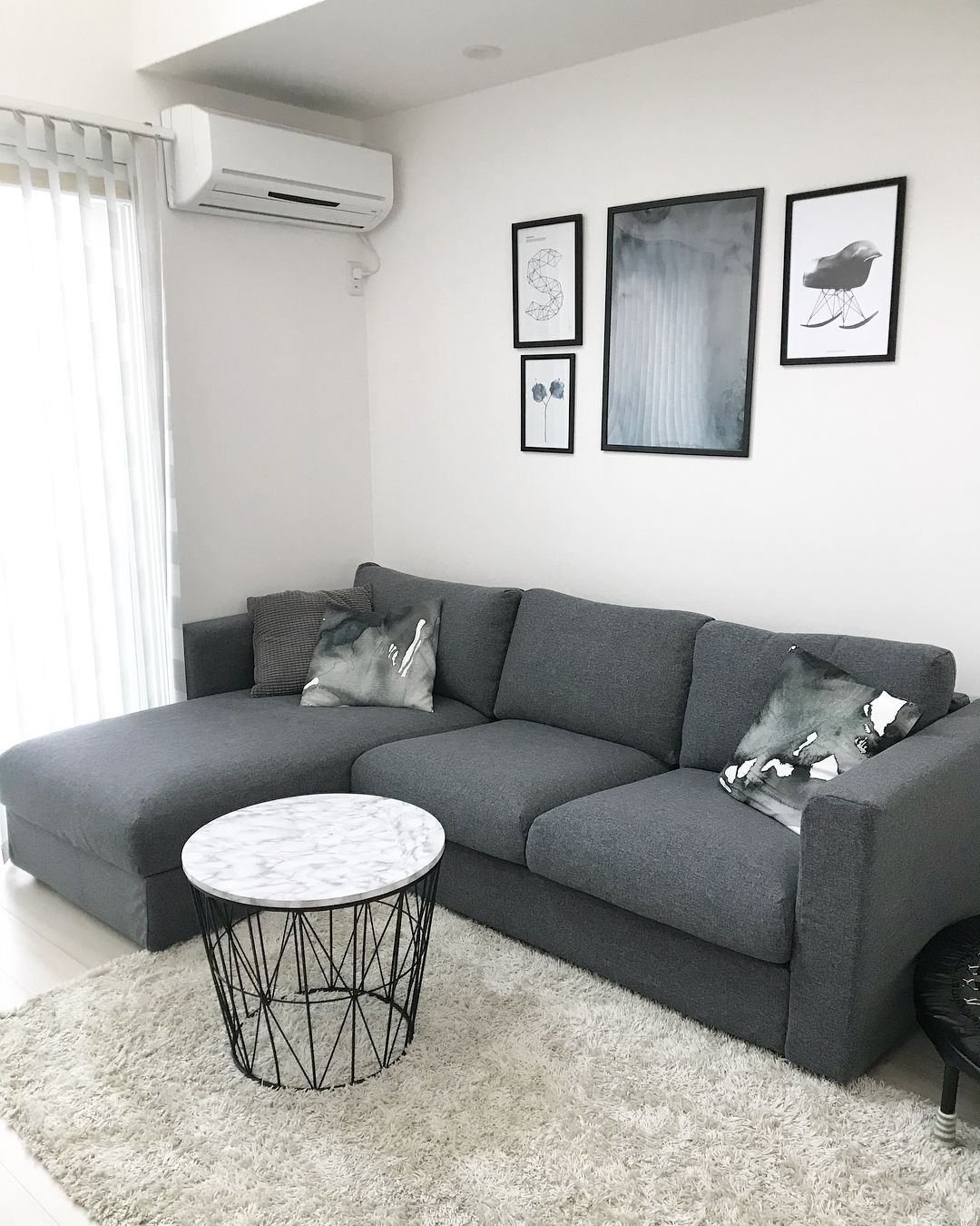 Ikea Vimle Sofa In Grey Design Layout Is Lovely Appartement Salon