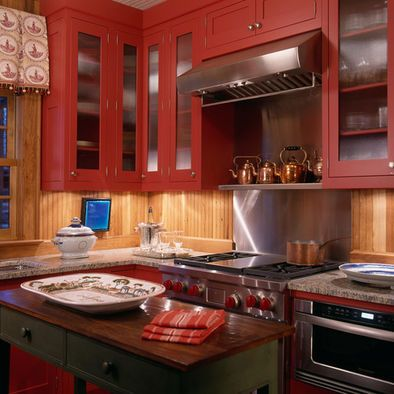 Kitchen Rustic Cabins Design, Pictures, Remodel, Decor and ...