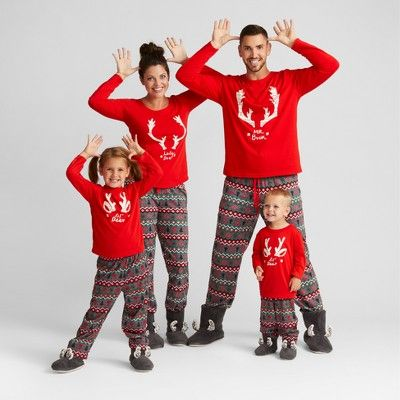 mens big tall fair isle family pajama set wondershop anthem red l tall
