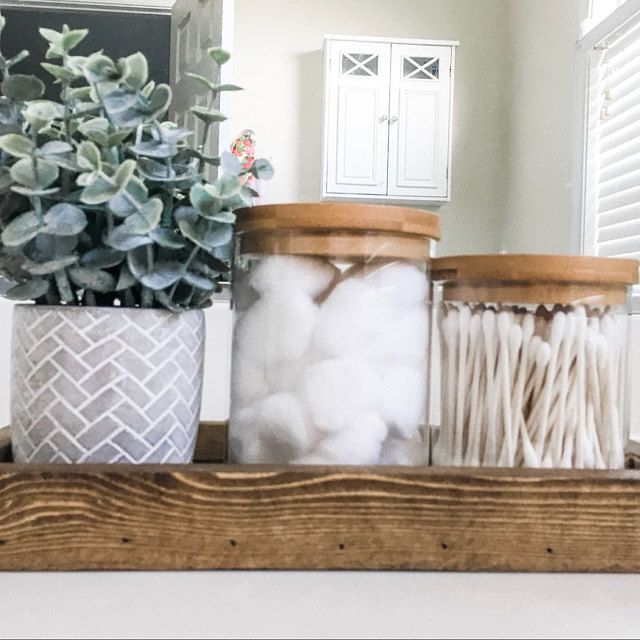 Mason Jar Bathroom Set, Painted Mason Jars, Mason Jar Decor, Bathroom Decor, Bathroom Storage, Rustic Decor, Housewarming Gift, 5 Piece #masonjarbathroom