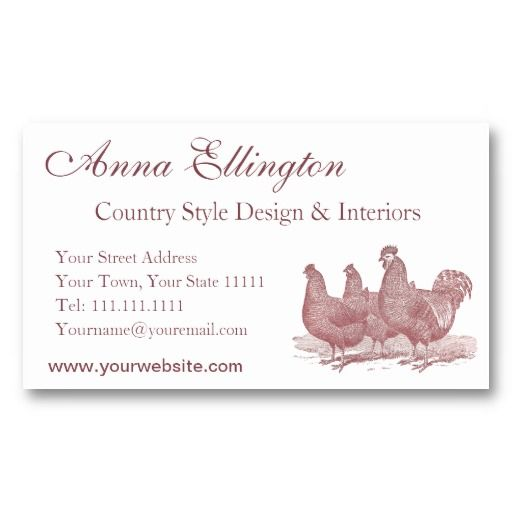 Red Rooster And Hens Plymouth Rock Chickens Farm Business Card Zazzle Com Plymouth Rock Chicken Best Egg Laying Chickens Chickens Backyard